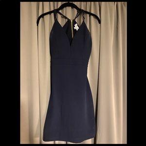 Emerald Sundae Dresses - Emeral Sundae Navy Dress